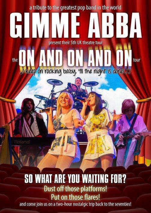 Gimme Abba Poster
