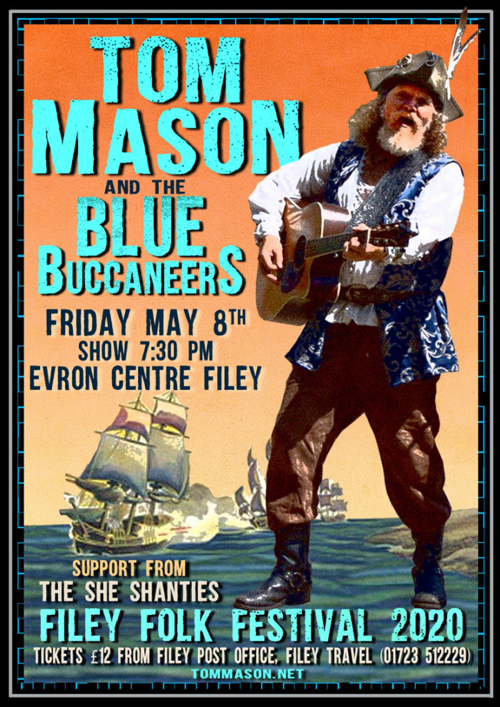 Tom Mason and the Blue Buccaneers